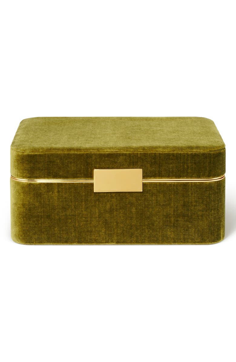 AERIN Beauvais Velvet Jewelry Box, Main, color, 300