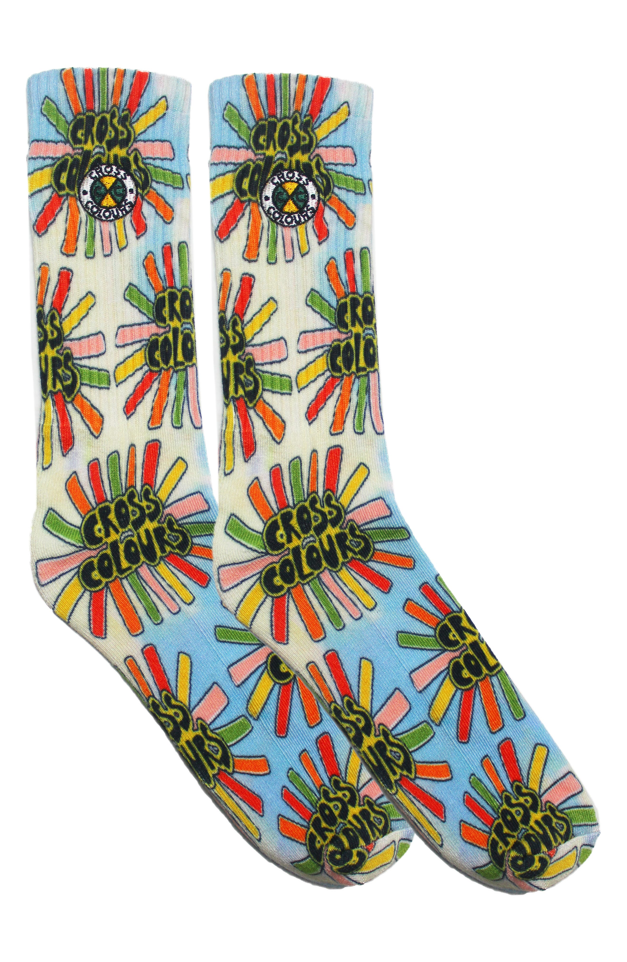 Sunshine Logo Tie Dye Socks