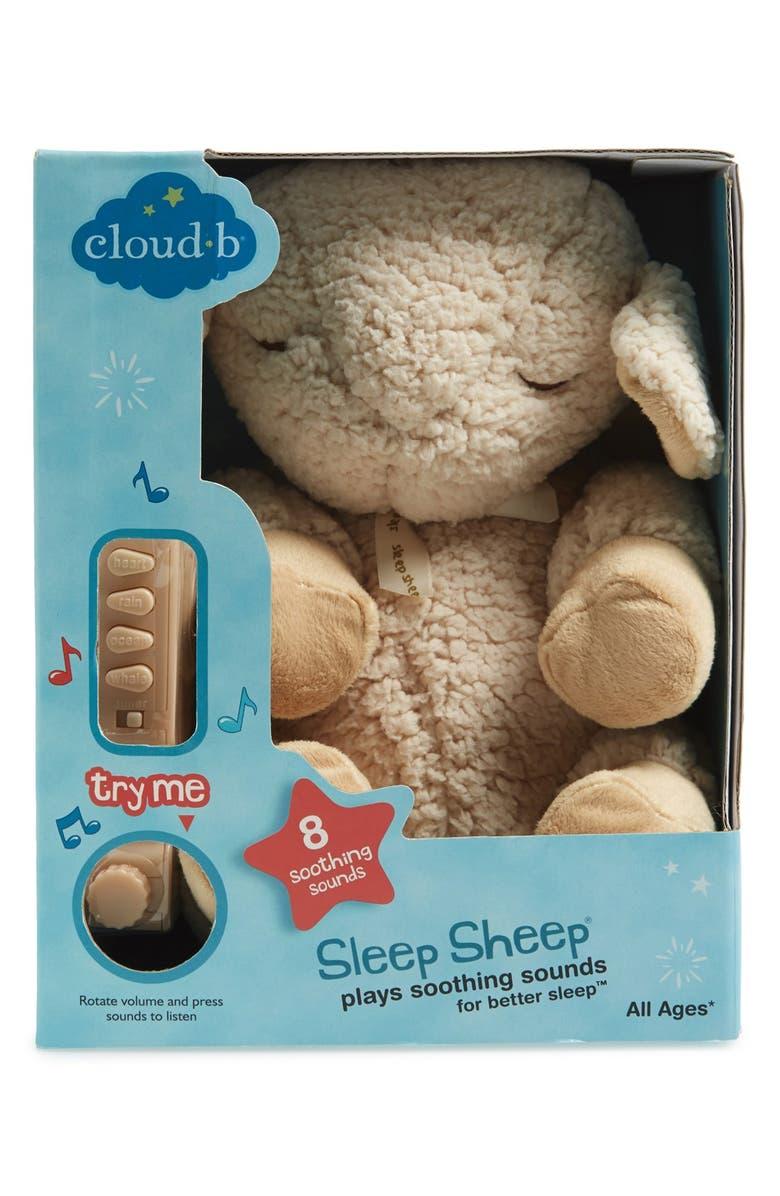 CLOUD B 'Sleep Sheep' Stuffed Animal, Main, color, 107