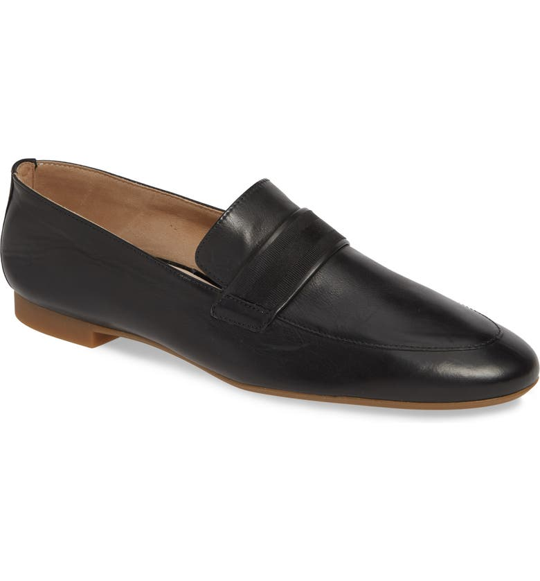 PAUL GREEN Adelle Loafer, Main, color, BLACK LEATHER