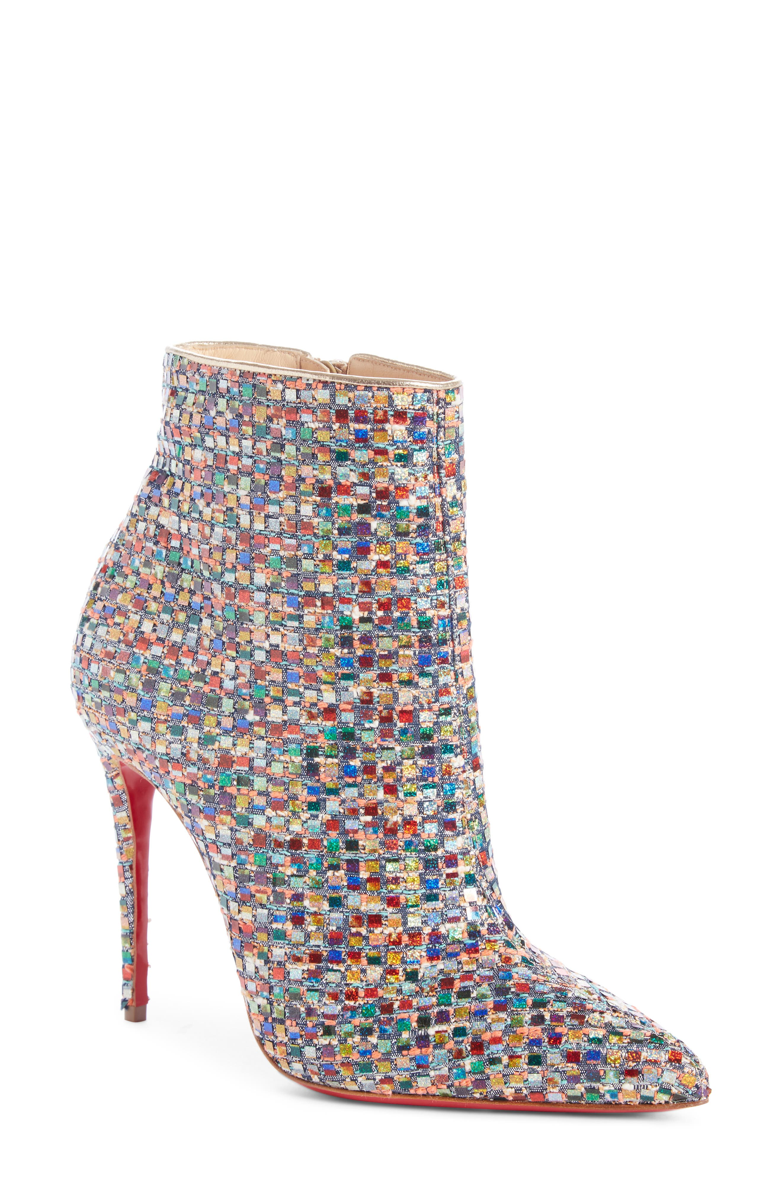 Christian Louboutin So Kate Mosaic Bootie