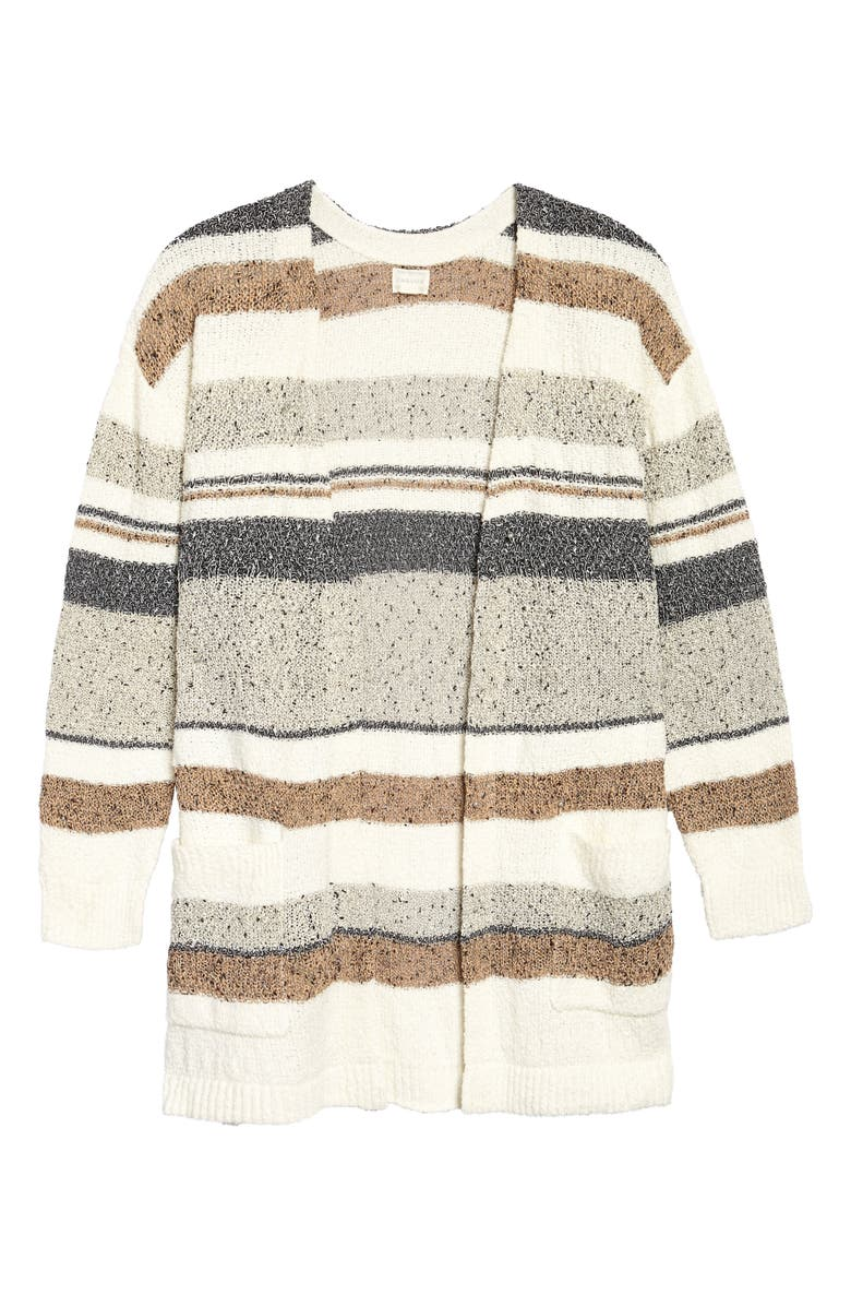 CASLON<SUP>®</SUP> Stripe Texture Cardigan, Main, color, 900