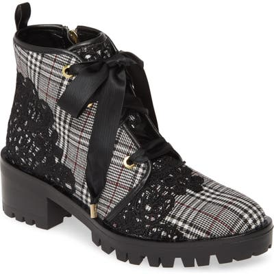 Karl Lagerfeld Paris Parker Boot- Black