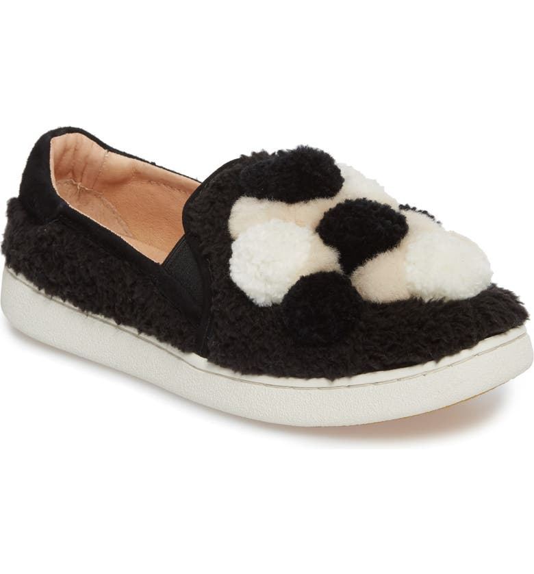 1574428e562 Ricci Plush Genuine Shearling Pompom Slip-On Sneaker