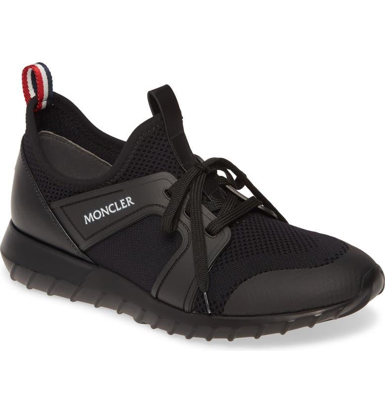 MONCLER Emilien Sneaker, Main, color, BLACK