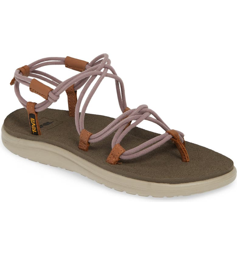 TEVA Voya Infinity Sandal, Main, color, QUAIL FABRIC
