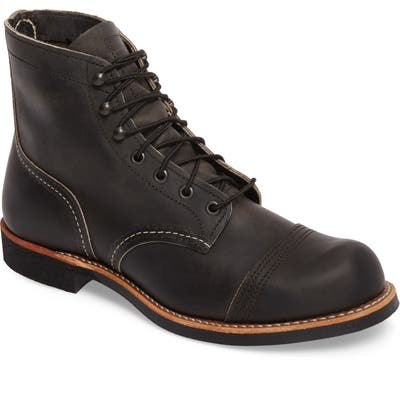 Red Wing Iron Ranger Cap Toe Boot, Grey