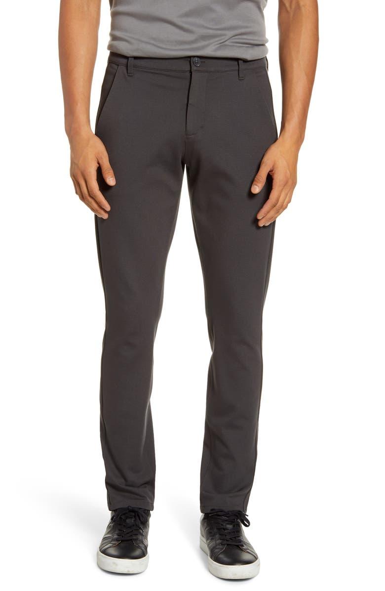 PAIGE Transcend Stafford Slim Fit Knit Pants, Main, color, ROCKET