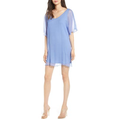Bailey 44 Demeter Silk Shift Dress, Blue