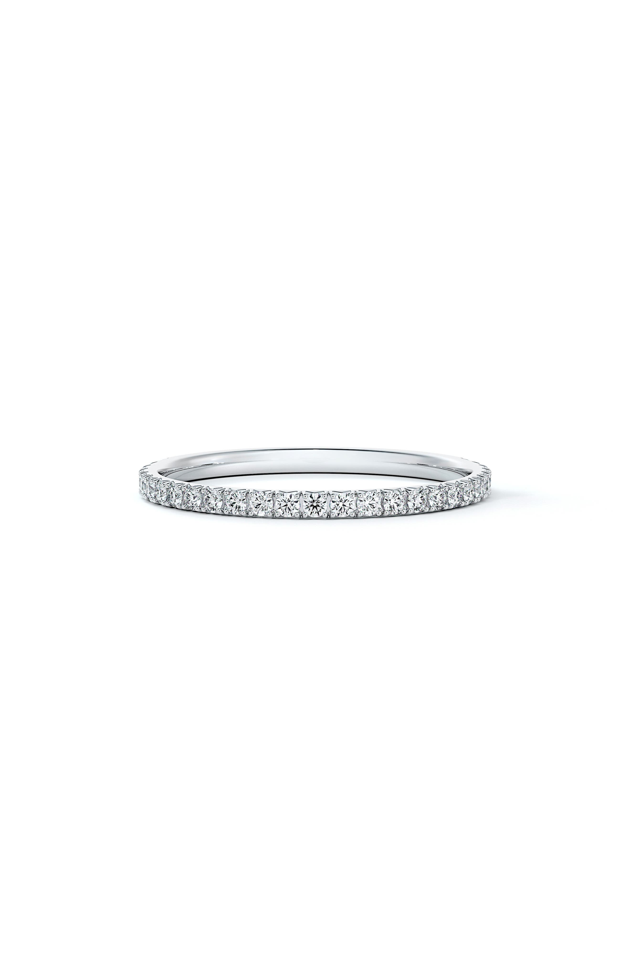 Engagement & Commitment French Pave Diamond Band