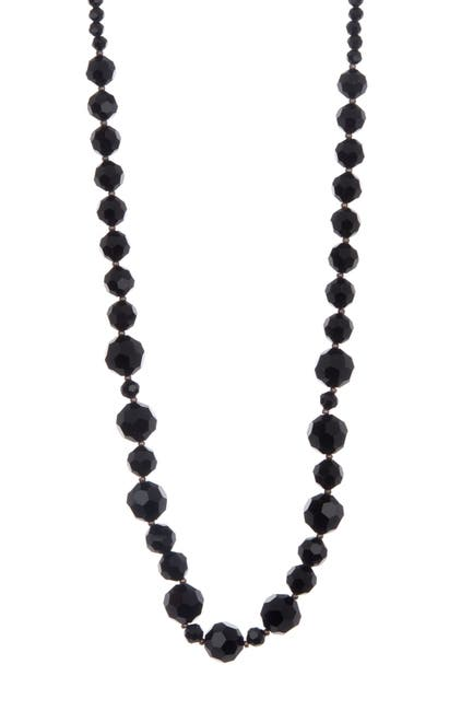 Image of Carolee Gradient Beaded Strand Long Necklace