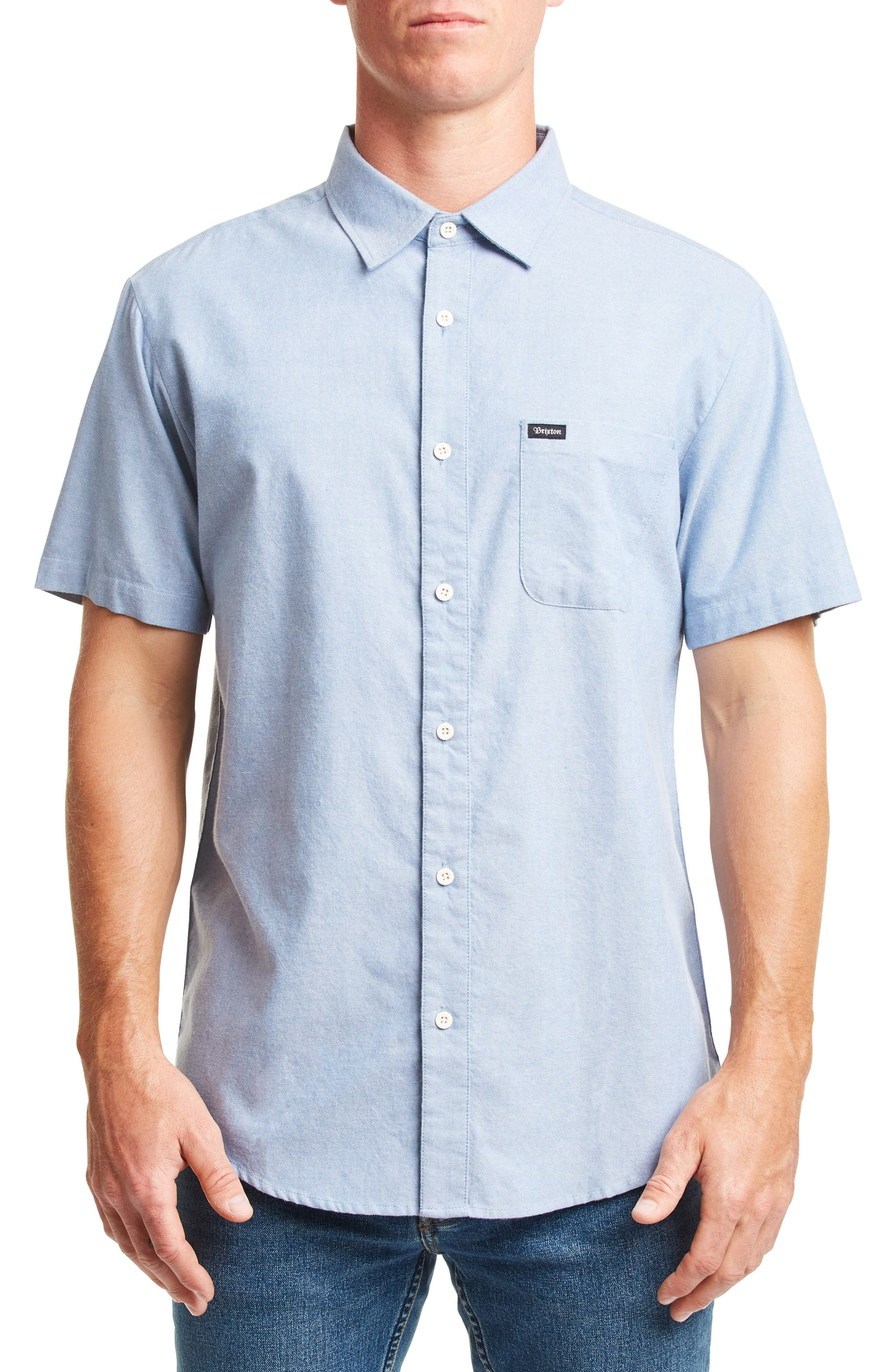 ,                             Charter Oxford Woven Shirt,                             Main thumbnail 3, color,                             400
