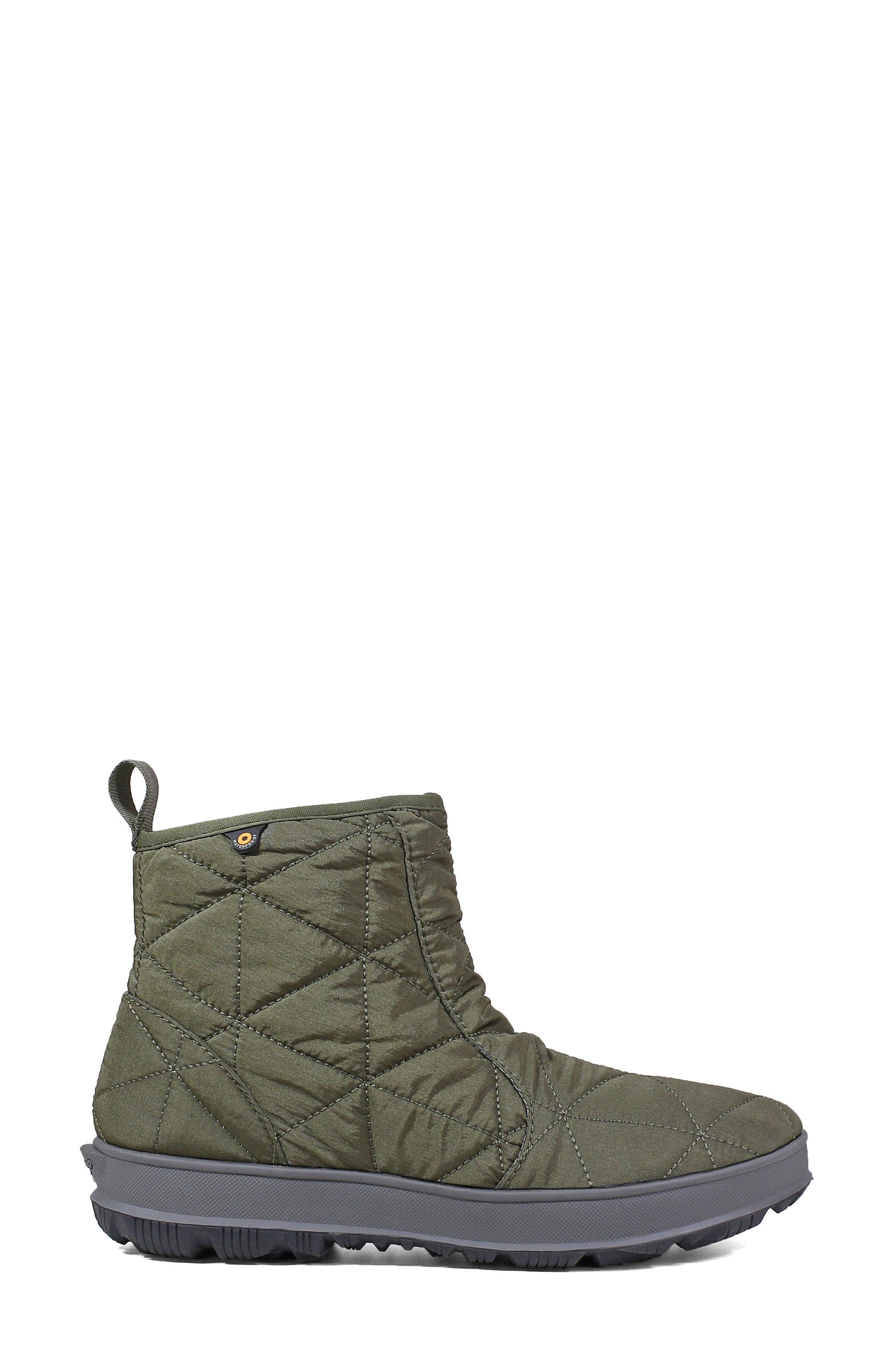 ,                             Snowday Waterproof Quilted Snow Boot,                             Alternate thumbnail 19, color,                             301