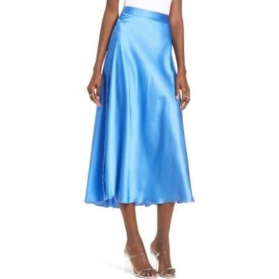 Vero Moda Christa Midi Skirt, Blue