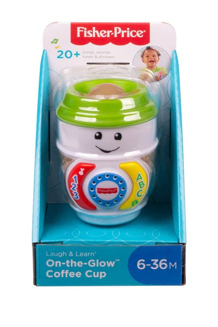 Image of Fisher-Price Laugh & Learn® On-the-Glow™ Coffee Cup