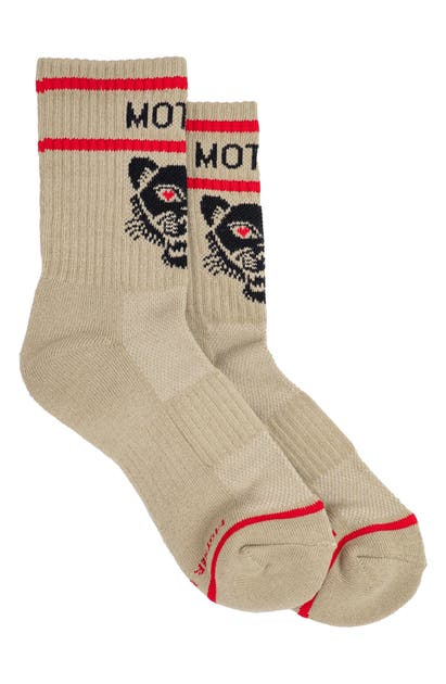 Mother BABY STEPS CREW SOCKS
