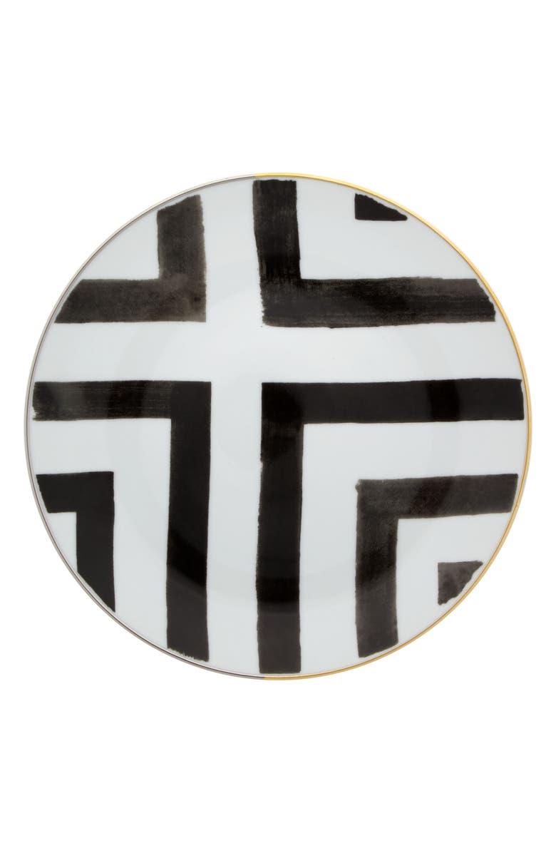 CHRISTIAN LACROIX Sol y Sombra Dessert Plate, Main, color, 001