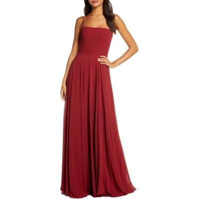 Jenny Yoo Renee Chiffon Evening Dress