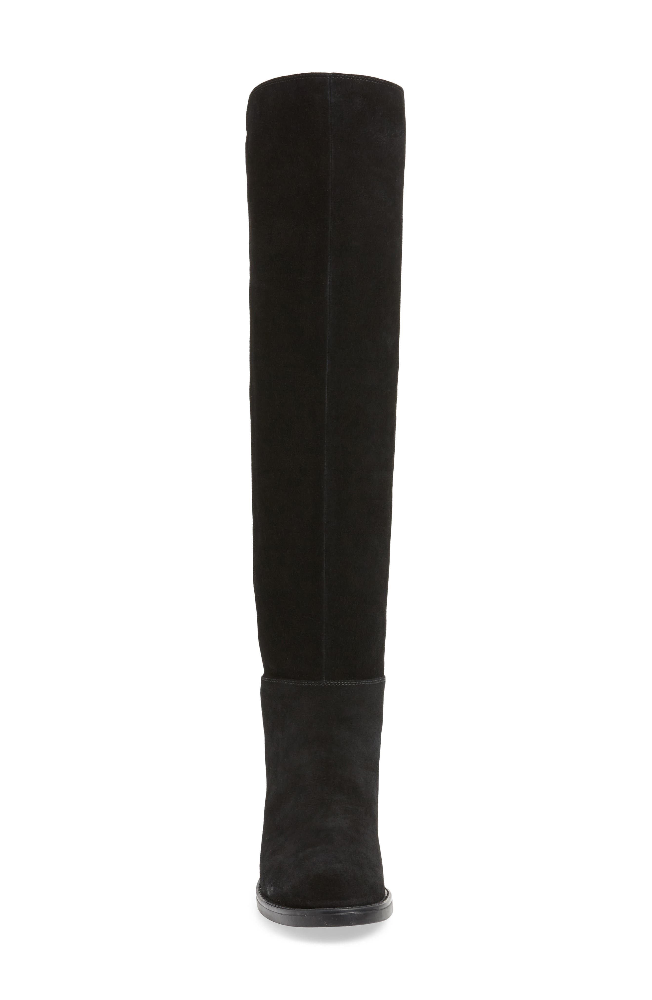 ,                             Danny Over the Knee Waterproof Boot,                             Alternate thumbnail 4, color,                             001