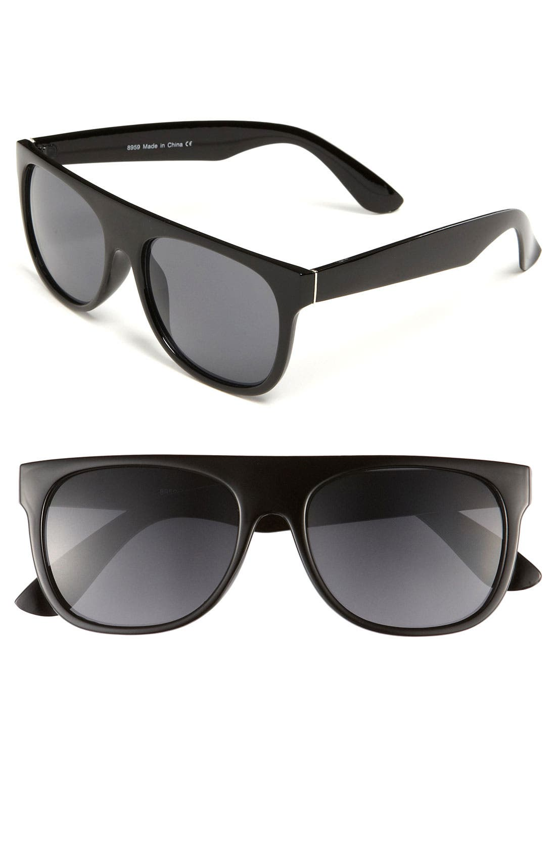 'J.B.' Sunglasses, Main, color, 001