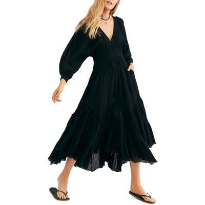 Endless Summer By Free People I Need To Know Maxi Dress, Black