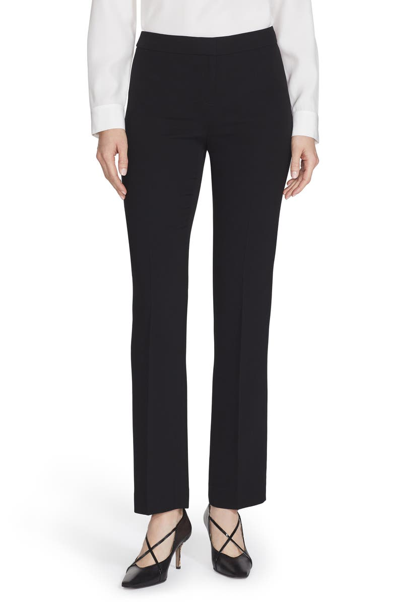 LAFAYETTE 148 NEW YORK Barrow Pants, Main, color, BLACK