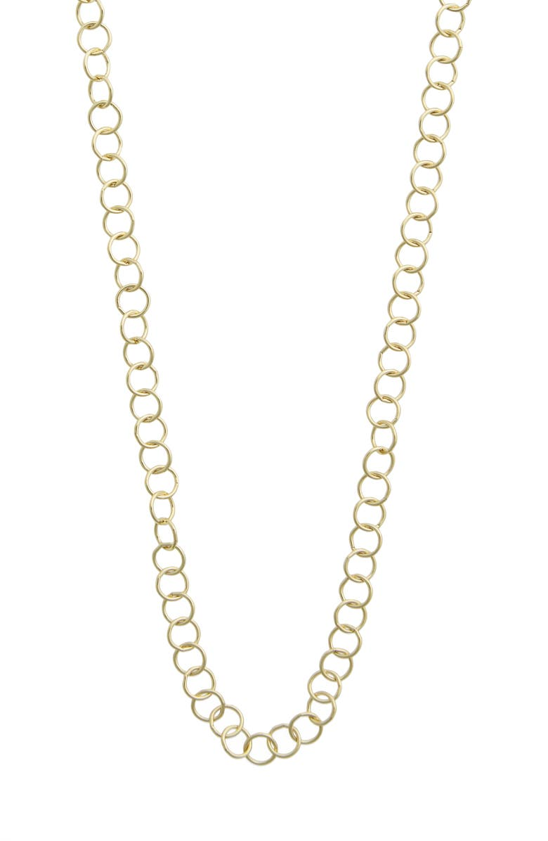 TEMPLE ST CLAIR Temple St. Clair 24-Inch Round Chain Necklace, Main, color, YELLOW GOLD
