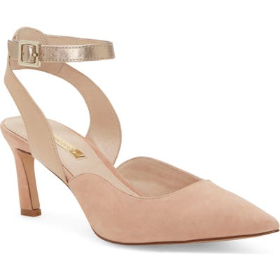 Louise Et Cie Kayin Ankle Strap Pump, Pink