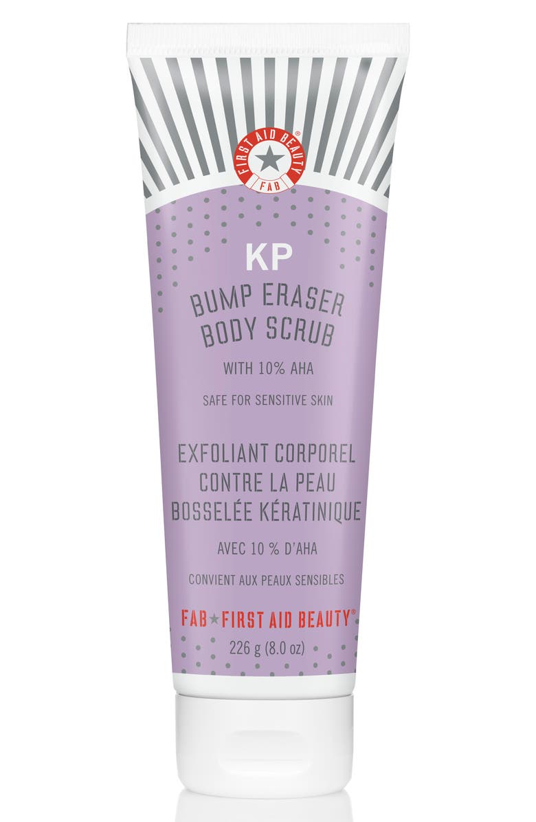 FIRST AID BEAUTY KP Bump Eraser Body Scrub, Main, color, NO COLOR