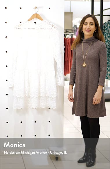 Long Sleeve Lace Minidress, sales video thumbnail
