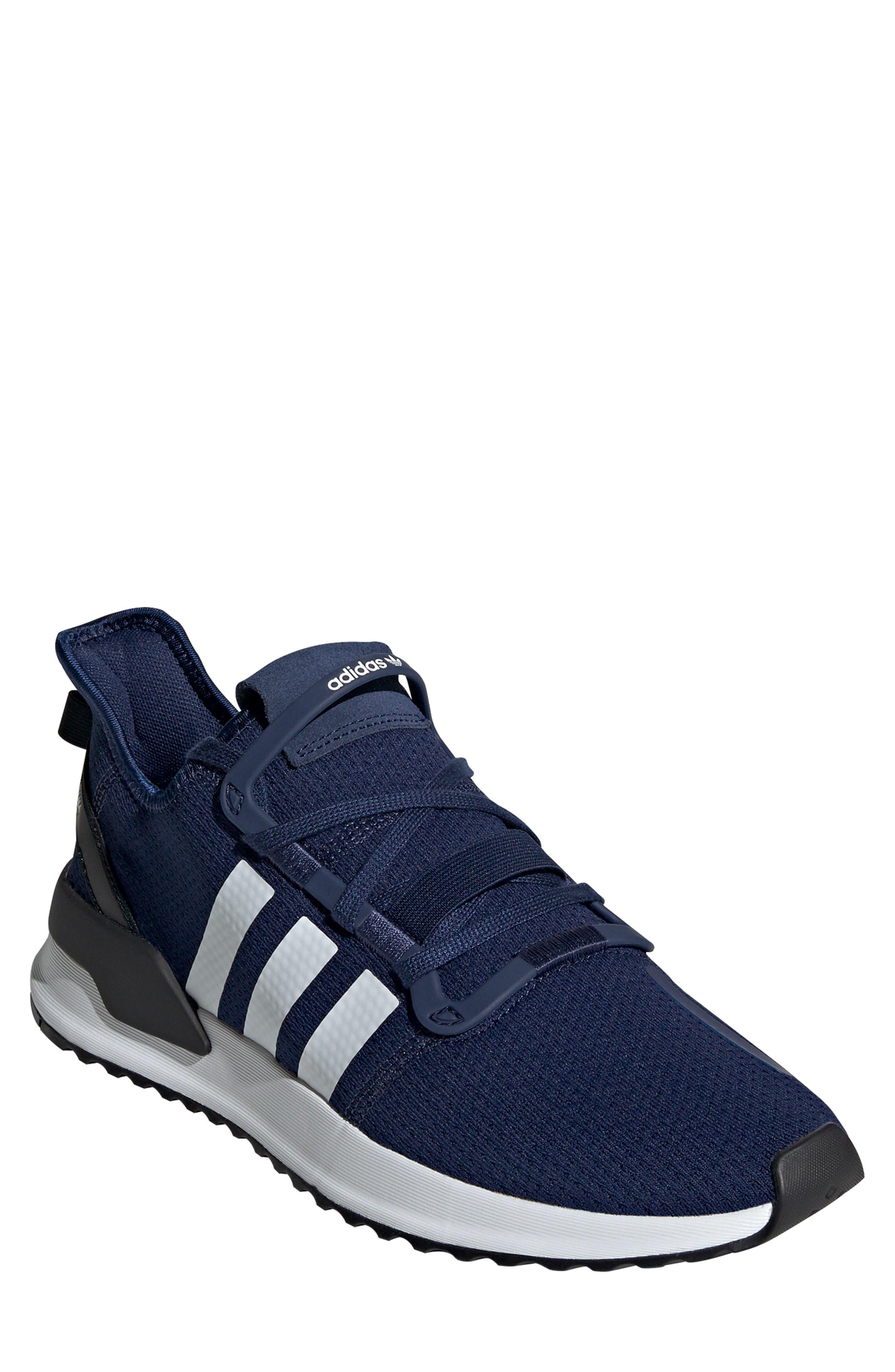 U-Path Run Sneaker, Main, color, DARK BLUE/ WHITE