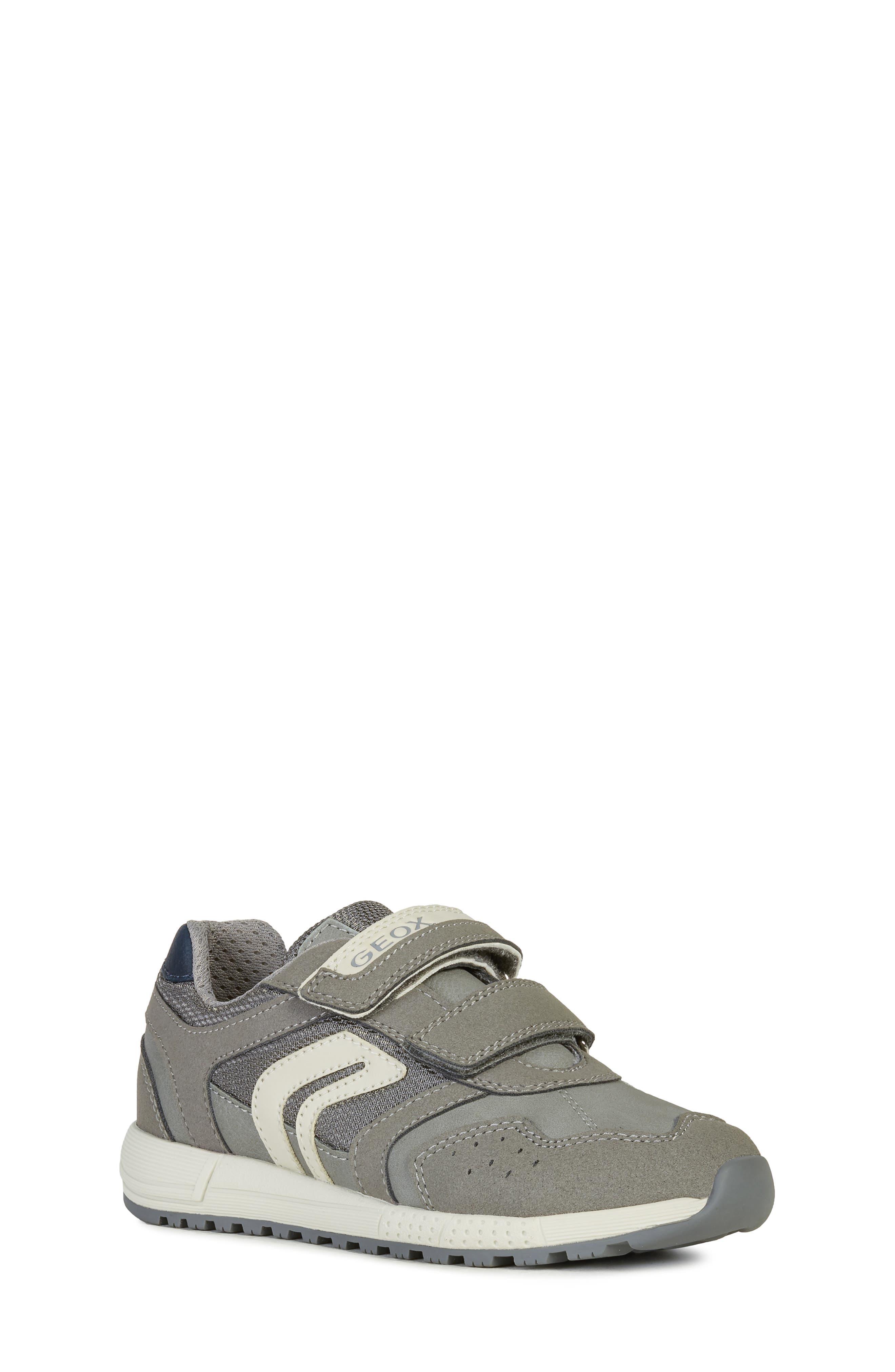 Toddler Geox Alben 7 Sneaker Size 12US  30EU  Grey