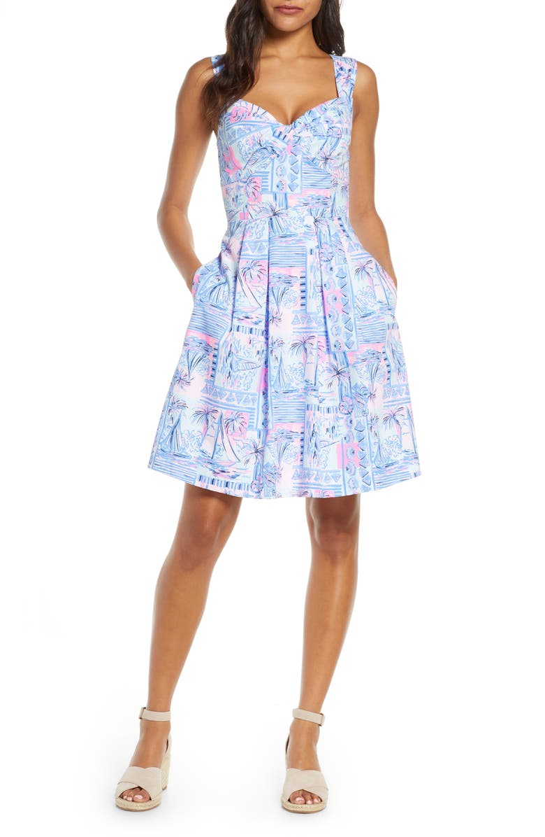 Cyndi Fit & Flare Sundress by Lilly Pulitzer®