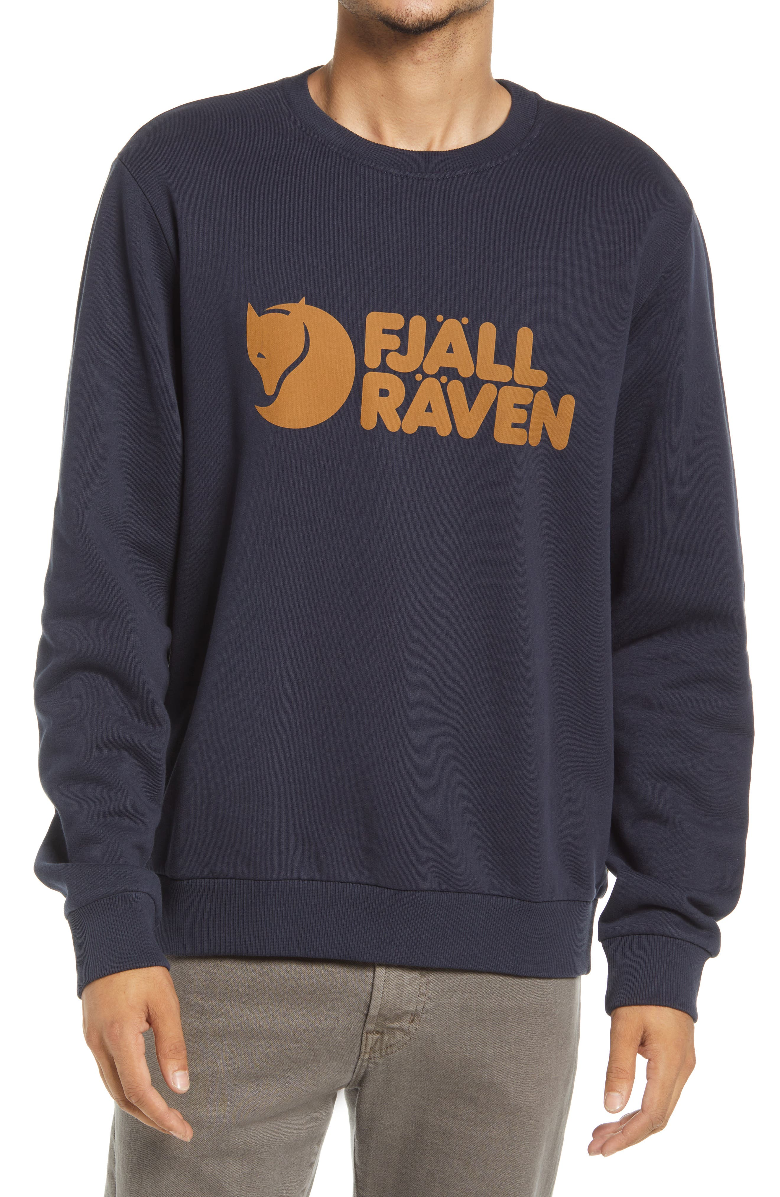 Men's Logo Organic Cotton Graphic Sweatshirt