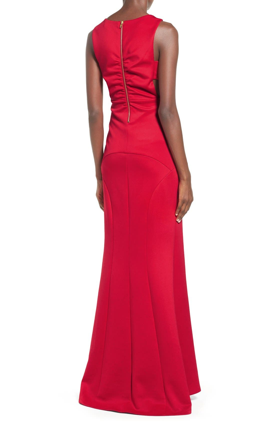 ,                             Side Cutout Gown,                             Alternate thumbnail 5, color,                             625