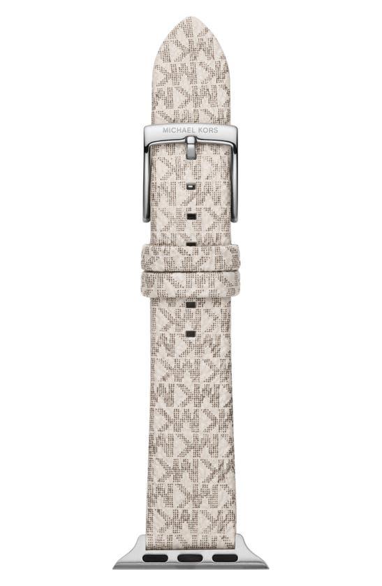 Michael Kors MICRO MONOGRAM PVC APPLE WATCH STRAP
