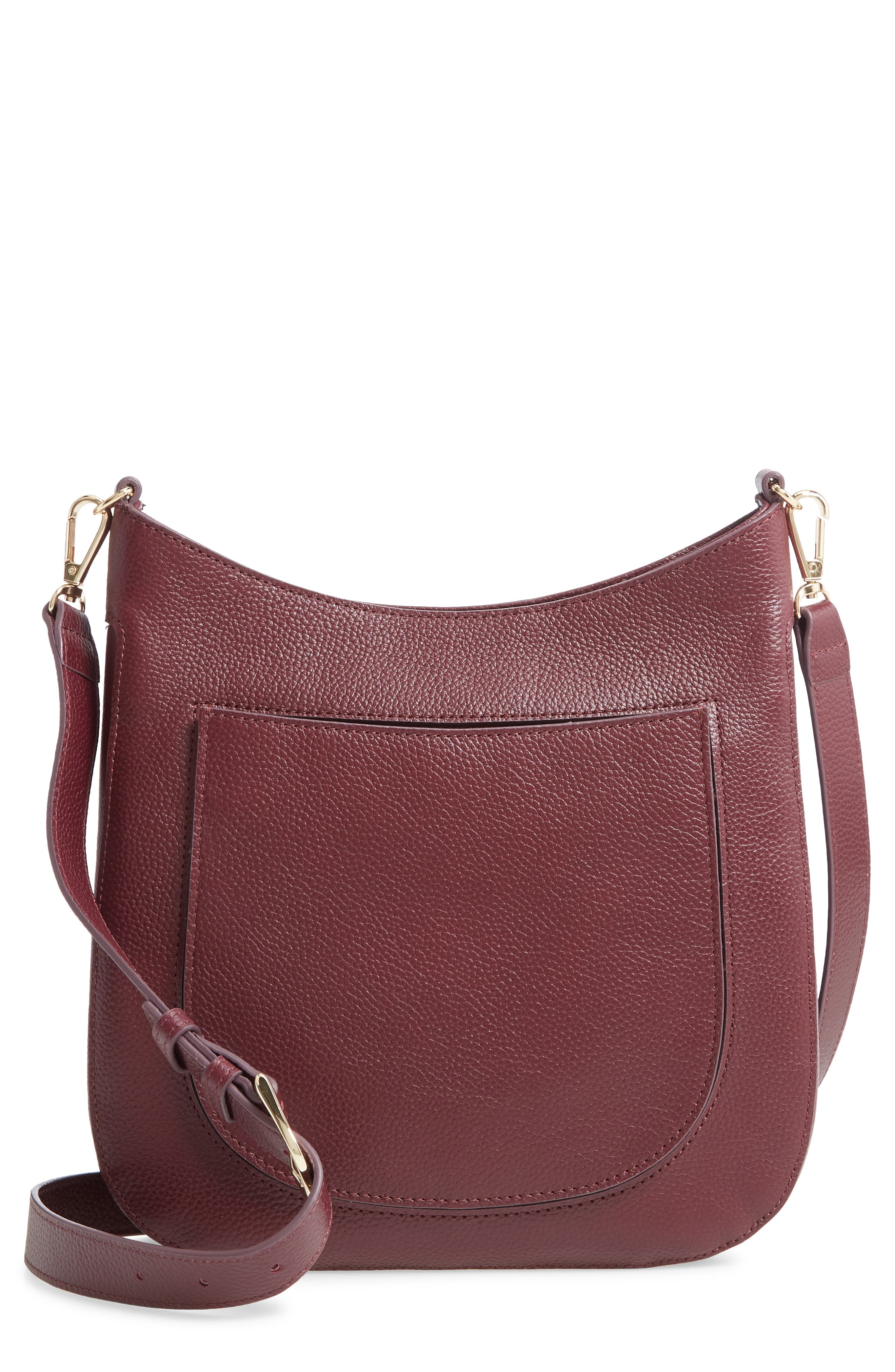 Richly grained calfskin leather styles a timeless crossbody bag designed with just enough room for organizing essentials. Style Name: Nordstrom Medium Madrona Leather Crossbody Bag. Style Number: 6015819. Available in stores.