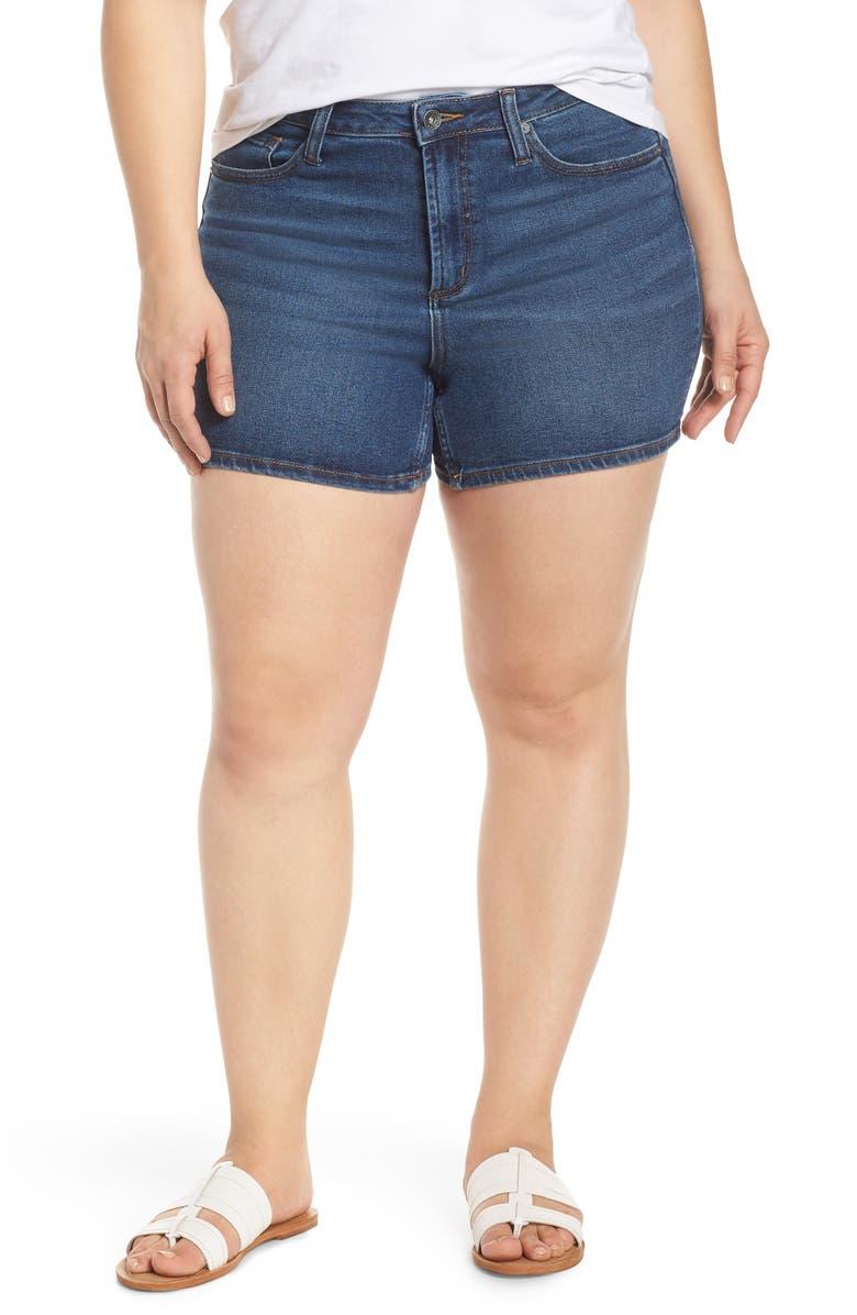 MAXSTUDIO INDIGO Vintage Perfect Denim Shorts, Main, color, GLEASON WA
