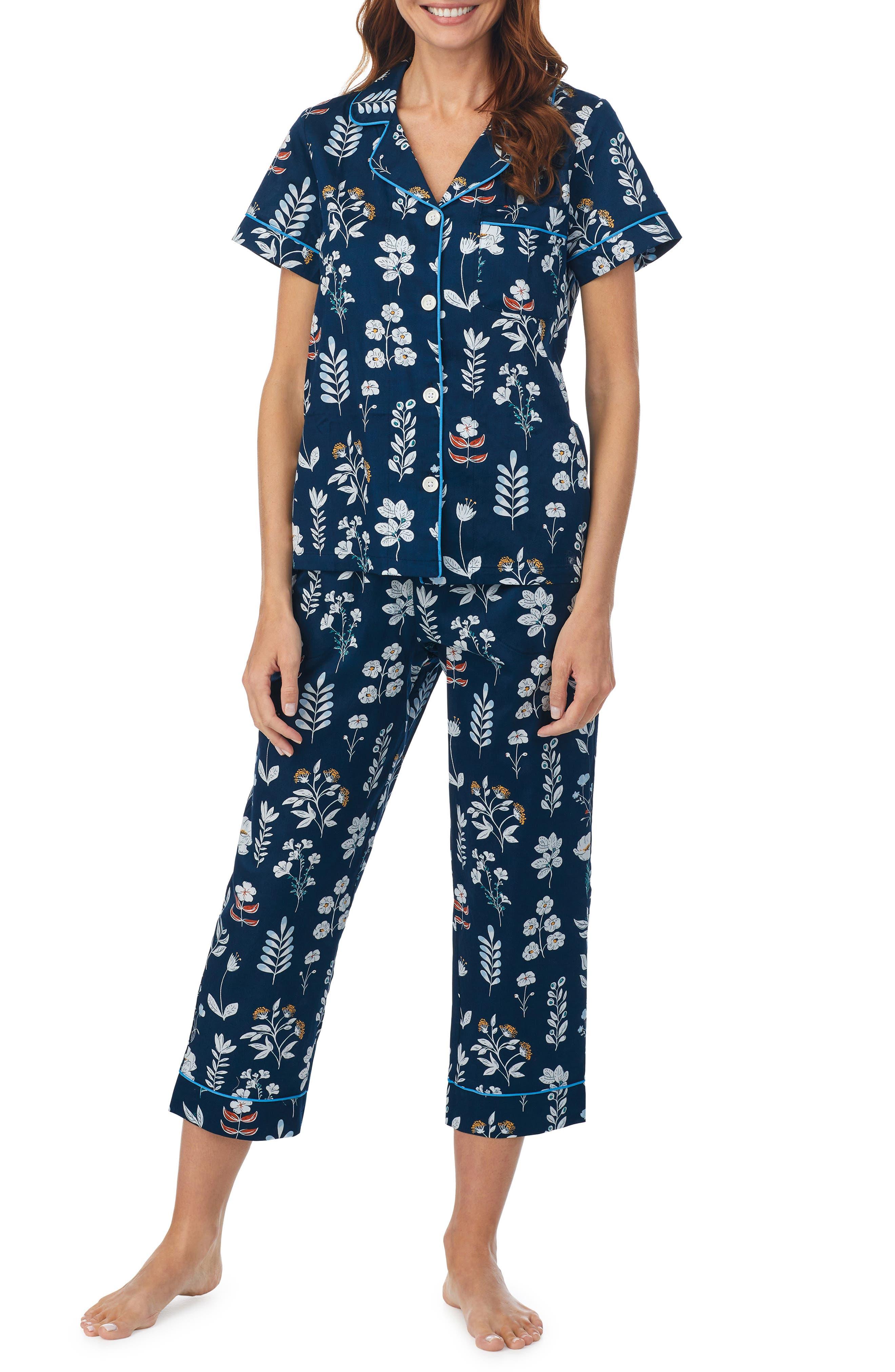 Classic Organic Cotton Crop Pajamas