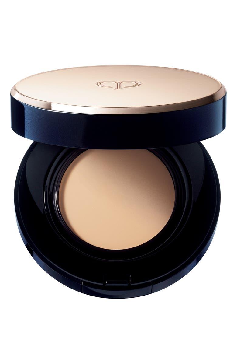 CLÉ DE PEAU BEAUTÉ Radiant Cream to Powder Foundation SPF 24, Main, color, I10 - VERY LIGHT IVORY