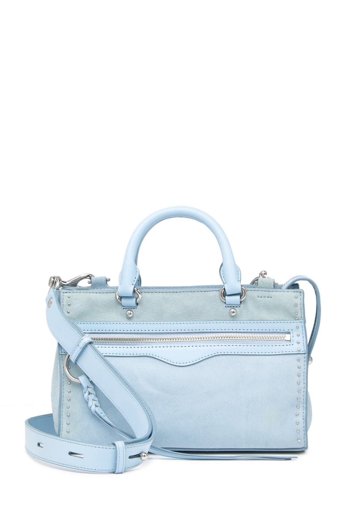 Image of Rebecca Minkoff Micro Bedford Zip Satchel