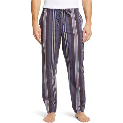 Hanro Noe Pajama Pants, Blue