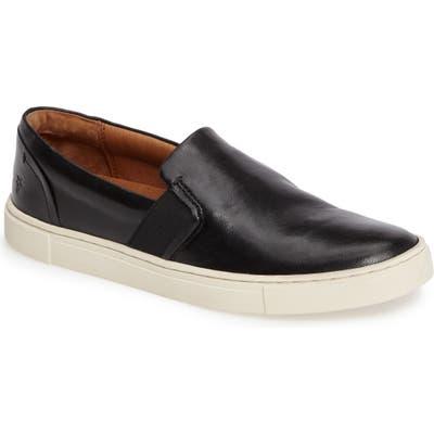 Frye Ivy Slip-On Sneaker- Black