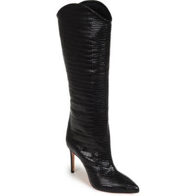 Schutz Maryana Pointy Toe Boot- Black