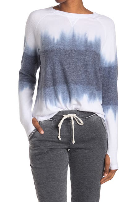 Image of Theo and Spence Tie Dye Crew Neck Sweater