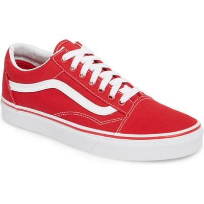 Vans Old Skool Sneaker- Red