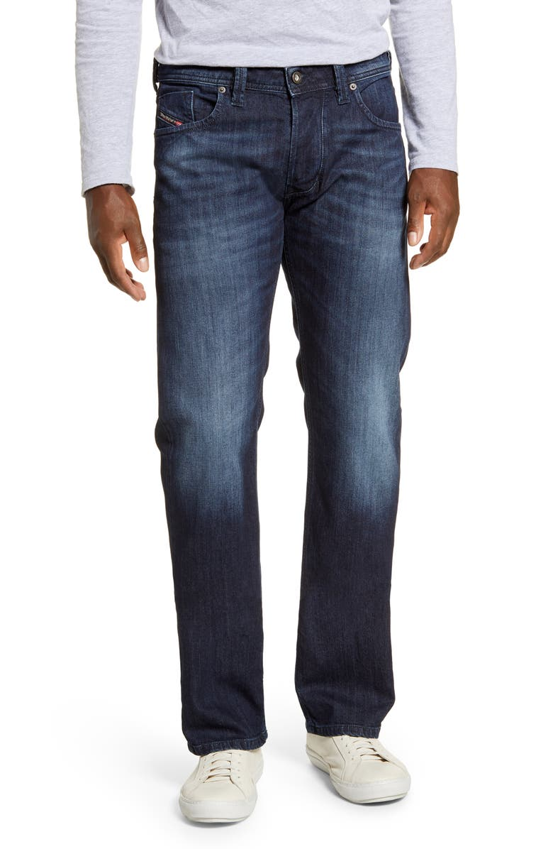 DIESEL<SUP>®</SUP> Larkee Relaxed Fit Jeans, Main, color, 0095W