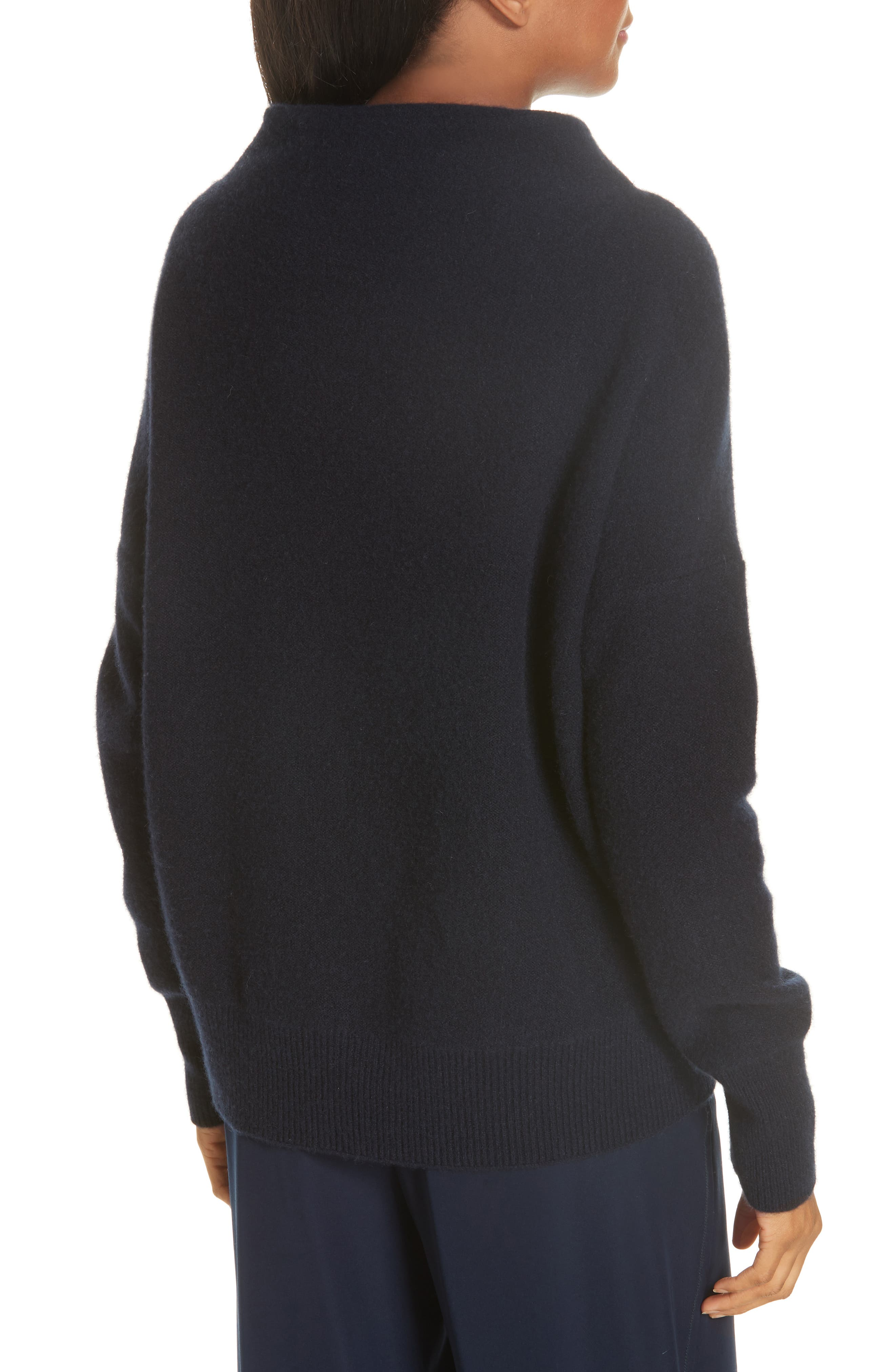 ,                             Funnel Neck Cashmere Sweater,                             Alternate thumbnail 9, color,                             403