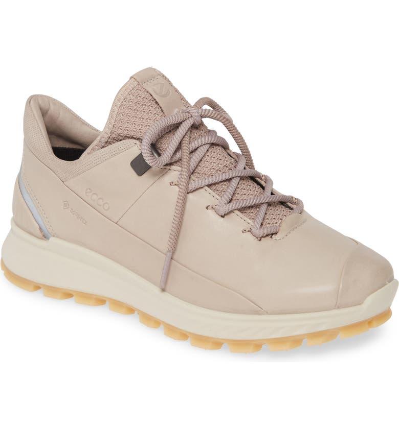 ECCO Exostrike Gore-Tex<sup>®</sup> Sneaker, Main, color, GREY ROSE LEATHER