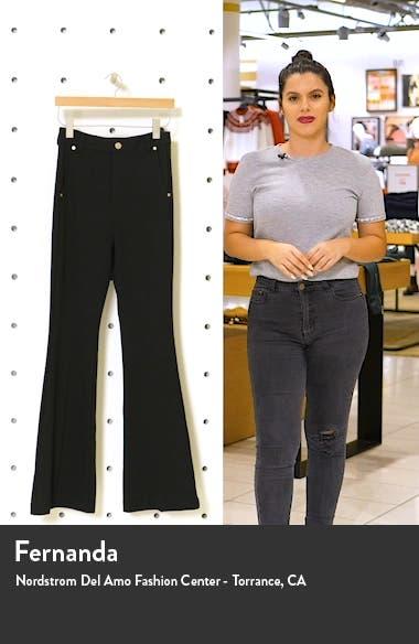 High Waist Flare Pants, sales video thumbnail